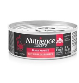 Dog & cat Nutrience Grain Free Subzero Pâté - Prairie Red - 156 g (5.5 oz)