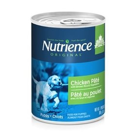 Dog & cat Nutrience Original Puppy - Chicken Pâté with Brown Rice & Vegetables - 369 g (13 oz)