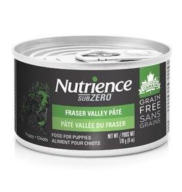 Dog & cat Nutrience Grain Free Subzero Pâté for Puppies - Fraser Valley - 170 g (6 oz)