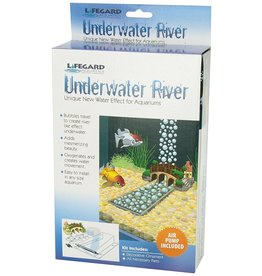 Aquaria (P) Underwater River with Air Pump - Small