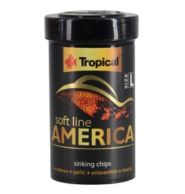 Aquaria (P) Soft Line America - Large Sinking Chips - 52 g