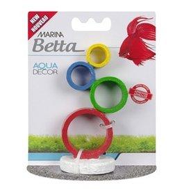 Aquaria Marina Betta Aqua Decor Ornament - Circus Rings