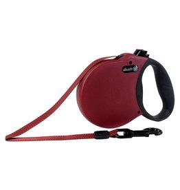 Dog & cat Adventure Retractable Leash - Red - Medium