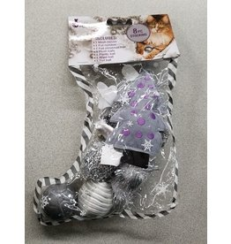 Dog & cat (D) Cat it Love Glitzy Stocking