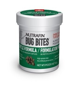 Reptiles Nutrafin Bug Bites Turtle Formula – Small to Medium Turtles – 5-7 mm - 45 g (1.6 oz)