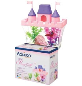 Aquaria AQ Betta Princess Castle Aquarium Kit