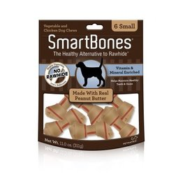 Dog & cat SmartBones Peanut Butter Small 6 pk