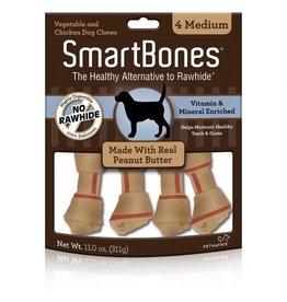 Dog & cat SmartBones Peanut Butter Medium 4 Pk