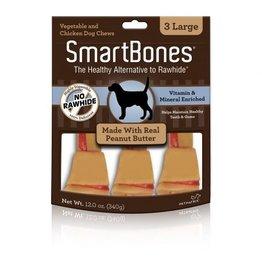 Dog & cat SmartBones Peanut Butter Large 3 Pk