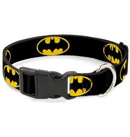 Dog & cat Batman Shield Collar - Large