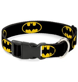 Dog & cat Batman Shield Collar - Small
