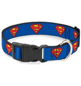 Dog & cat Superman Shield Collar - Large