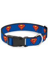 Dog & cat Superman Shield Collar - Small