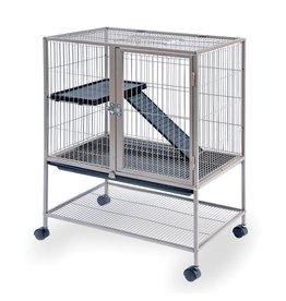 Small Animal (W) Prevue Hendryx<br /> Frisky Ferret Cage - Silver - 25.13&quot; x 17.13&quot; x 33.75&quot;
