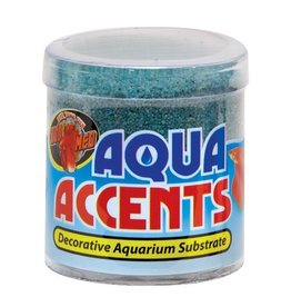 Aquaria (W) Aqua Accents Decorative Substrate - Terminator Teal Sand - 0.5 lb