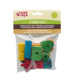 Dog & cat Living World Nibblers Wood Chews - Shapes Mix