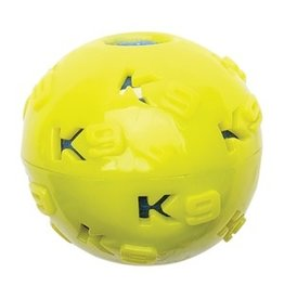 Dog & cat K9 Fitness by Zeus TPR Ball Encasing Tennis Ball - 7.62 cm dia. (3 in dia.)