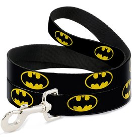 Dog & cat (W) Batman Shield Leash