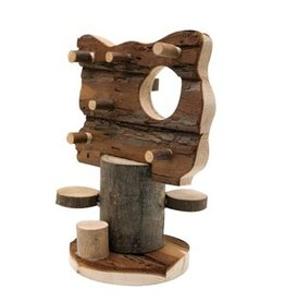 Small Animal (D) Living World TreeHouse Real Wood - Activity Tree