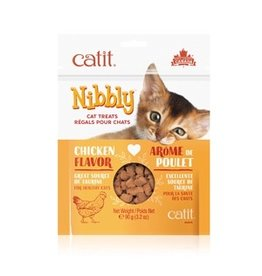 Dog & cat CT Nibbly Cat Cookies - Chicken, 90g