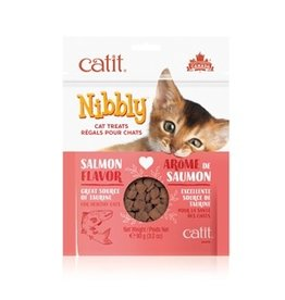 Dog & cat CT Nibbly Cat Cookies - Salmon, 90g