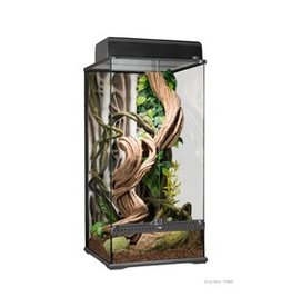 "Reptiles Exo Terra Natural Glass Terrarium - Small - X-Tall - 45 x 45 x 90 cm (18"" x 18"" x 36"")"