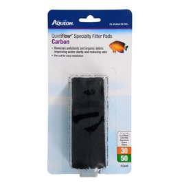 Aquaria Aqueon Carbon Spec Pad for QuietFlow 30/50