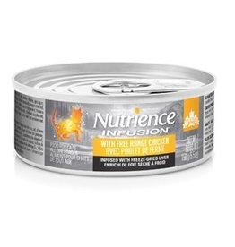 Dog & cat Nutrience Infusion Pâté with Free Range Chicken - 156 g (5.5 oz)
