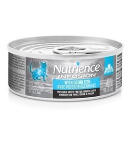 Dog & cat Nutrience Infusion Pâté with Ocean Fish - 156 g (5.5 oz)