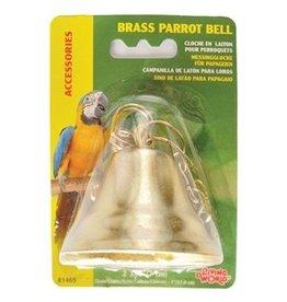 Bird LW Brass Parrot Bell-V