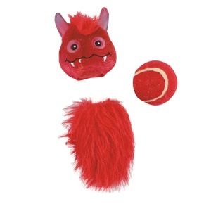 Dog & cat All for Paws - Monster Bunch 3'N'One - Red