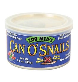 Reptiles Zoo Med Can O' Snails - 1.7 oz