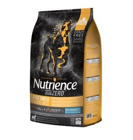 Dog & cat (W) Nutrience Grain Free Subzero for Large Breed Dogs - Fraser Valley - 10 kg (22 lbs)