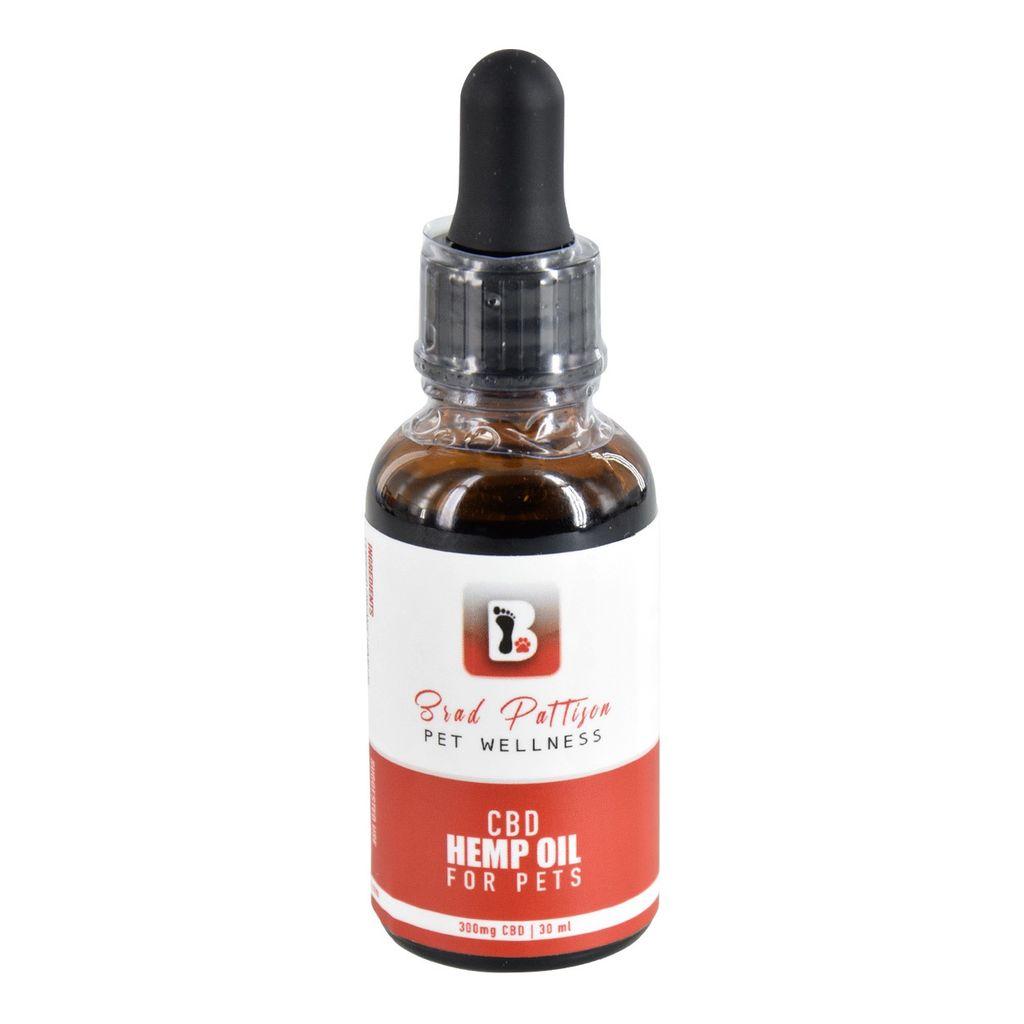 Dog & cat CBD Hemp Oil for Pets - 300 mg - 30 ml