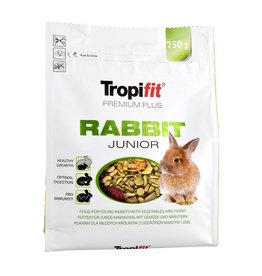 Small Animal Tropifit Premium Plus Rabbit - Junior - 750 g