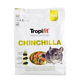 Small Animal Tropifit Premium Plus Chinchilla - 750 g