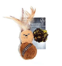 Dog & cat Silver Paw Star Wars Chewbacca Cat Toy 2 piece Set with Catnip