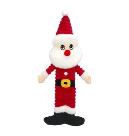 Dog & cat AT X-Mas Plush Dog Toy - Santa - 12""