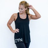 Canvas Bella ZYN22 Flowy Racerback Tank Black