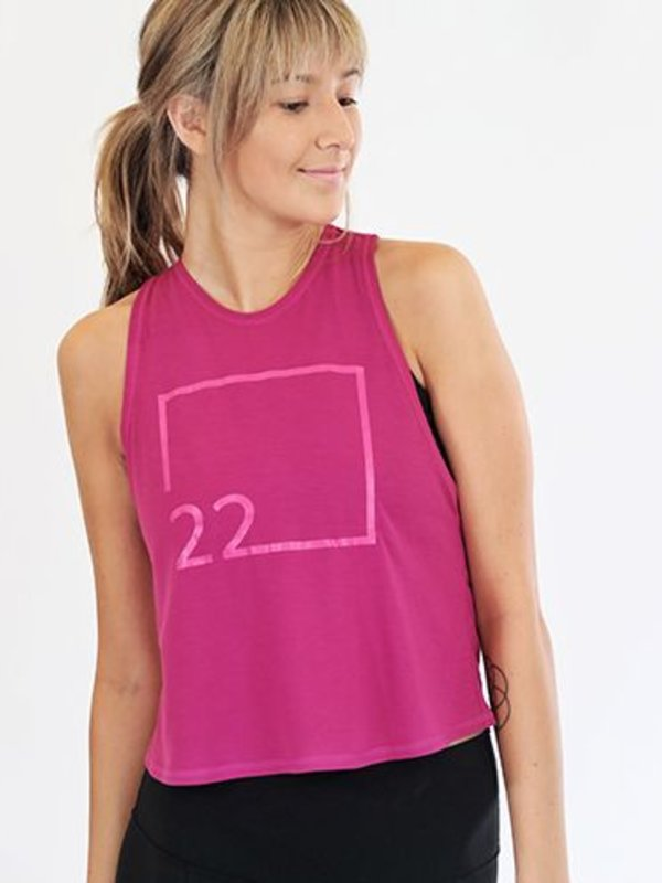 22 Clover Crop Top