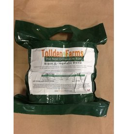 Tollden Farms TF Bison & Vegetable Patties 6lbs