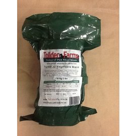 Tollden Farms TF Turkey & Vegetable Patties 3lbs