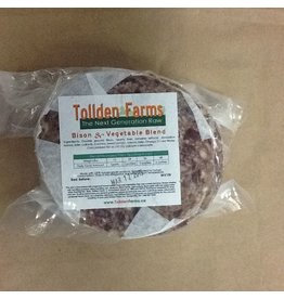 Tollden Farms TF Bison & Vegetable Patties 1lb