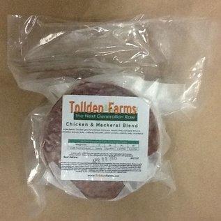 Tollden Farms TF Chicken & Mackerel Patties 1lb