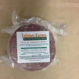 Tollden Farms TF Duck & Vegetable Patties 1lb