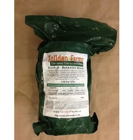 Tollden Farms TF Duck & Botanical Patties 3lbs