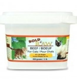 BOLD RAW BOLD Beef for Cats 1lb