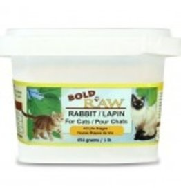 BOLD RAW BOLD Rabbit for Cats 1lb
