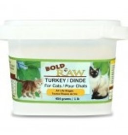 BOLD RAW BOLD Turkey for Cats 1lb