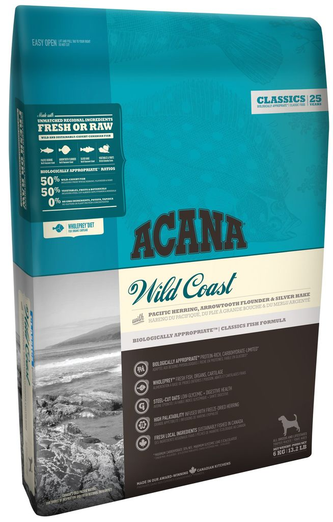 ACANA ACANA *Classics* Wild Coast 6kg